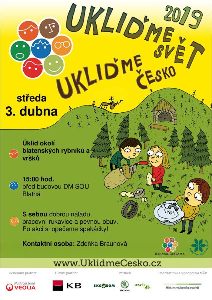 Ukliďme svět, ukliďme Česko 2019